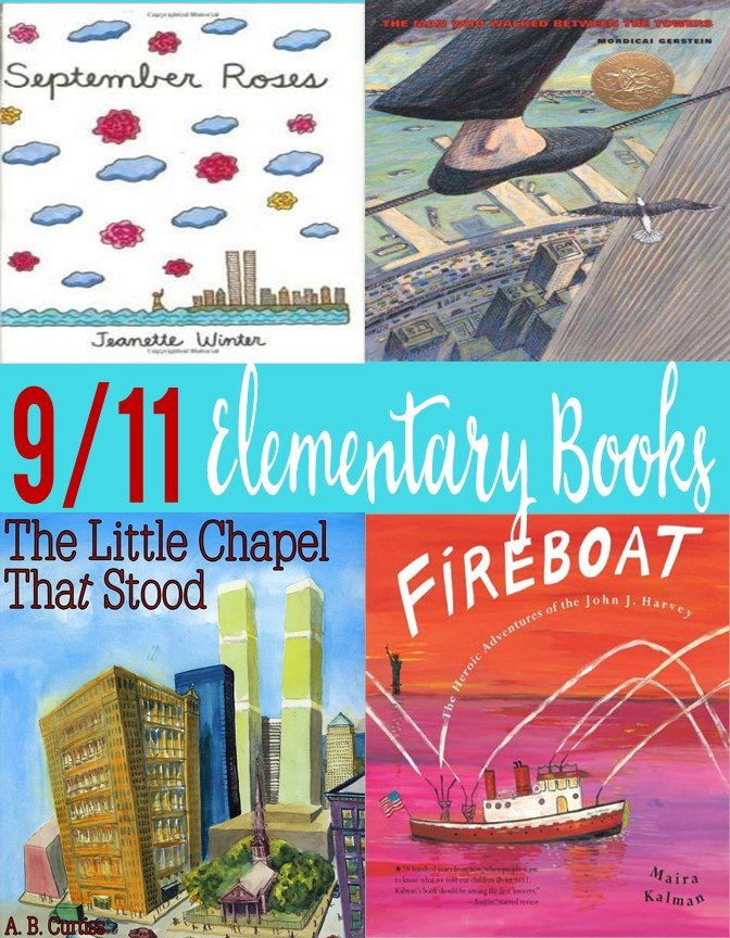 Picture books about September 11th for elementary.
