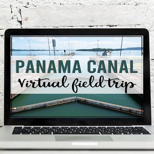 Panama Canal Virtual Field Trip (Google Earth Exploration)
