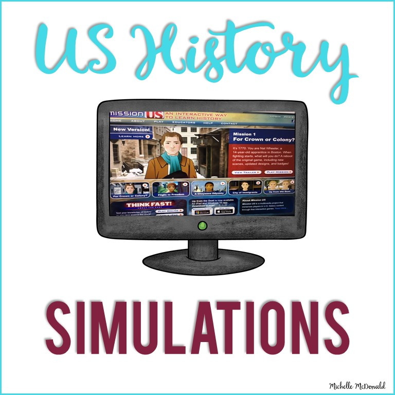 US History Games online