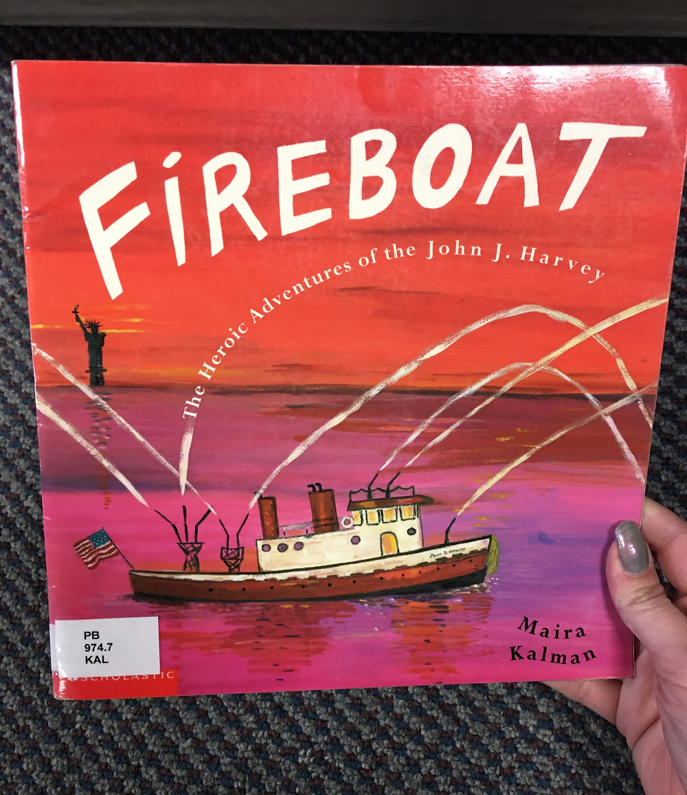 Fireboat is a picture book about September 11th
