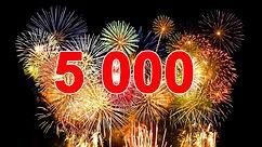Есть 5000 уникальных посетителей!