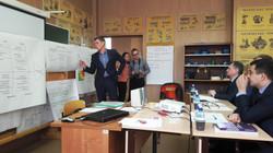 Защита предложений по улучшению процессов перед руководством предприятия.