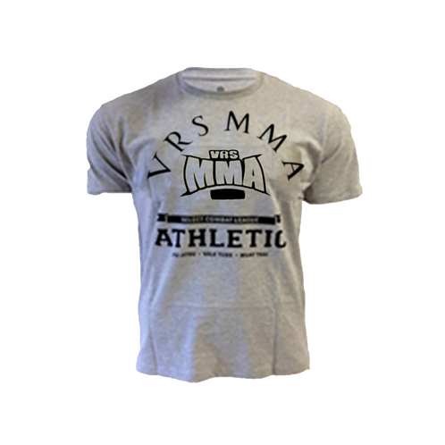 Our gray VRS MMA shirt,
