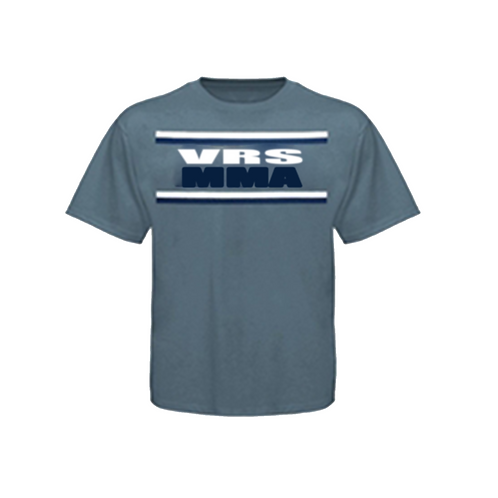 Our simple VRS MMA blue shirt.