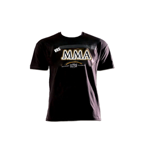 Black and gold VRS MMA Shirt.