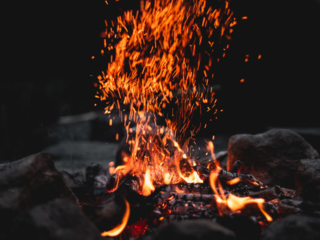 Fire in the Silence - Moses and the Burning Bush
