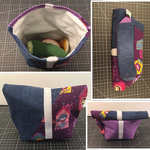 Lunchbag, Handmade By Anita
