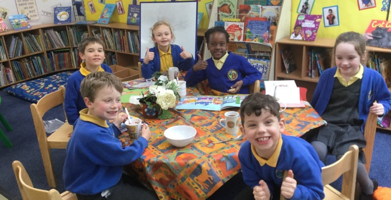 Year Two Reading Cafe
