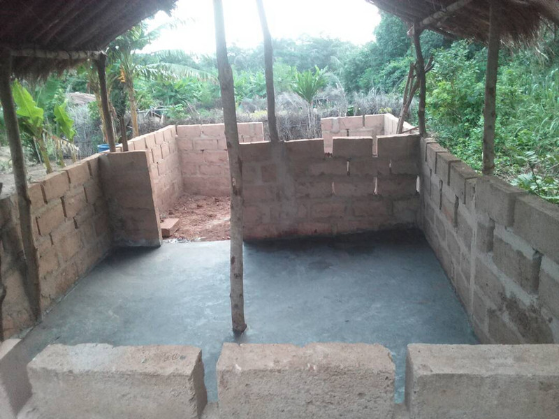 construction d'un enclos