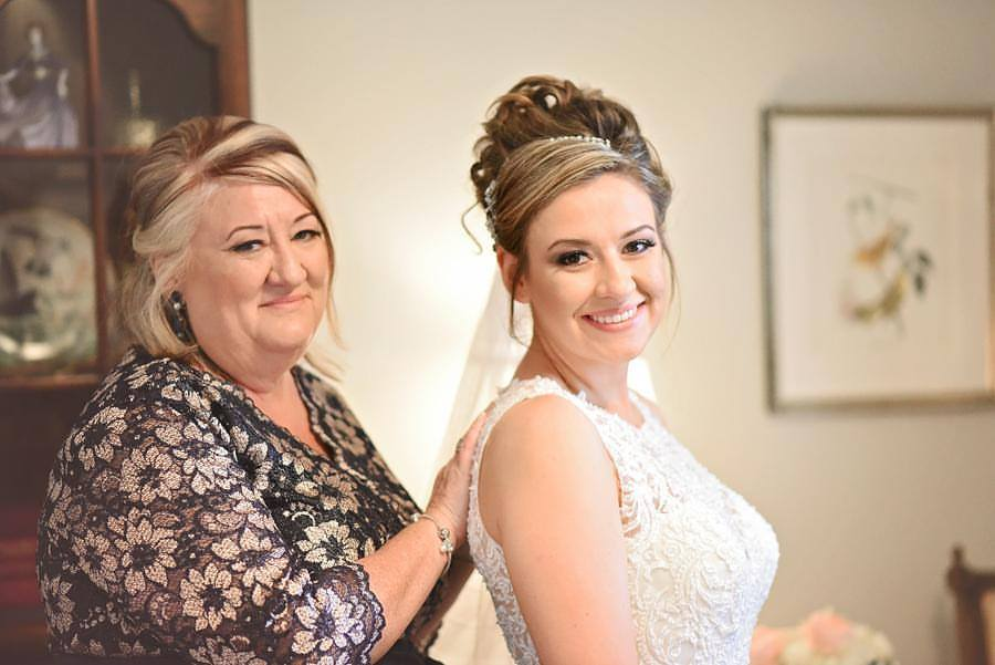 The Bride and Mom