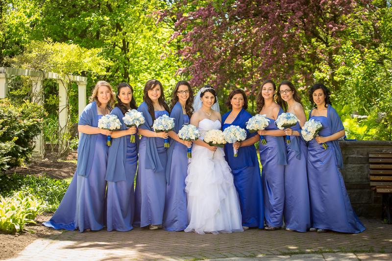 Jennifer & Her Bridal Party