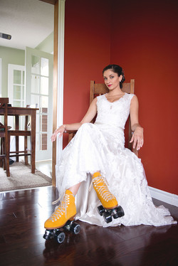 Roller Derby Bride