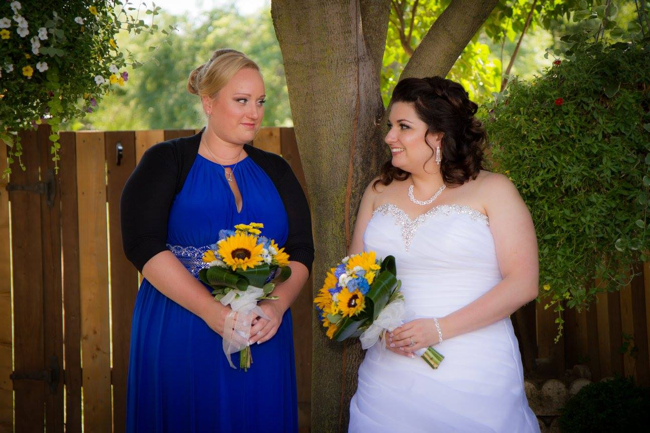 Christina & Her Maid of Honour
