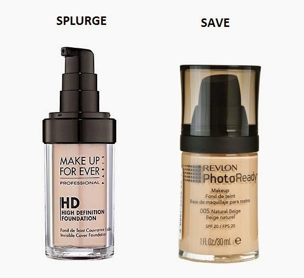 Drugstore Makeup, High End Makeup