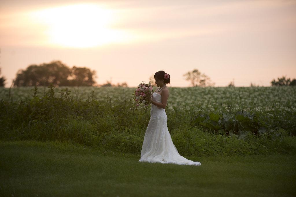 Golden Hour Bride