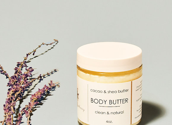 Body Butter - Cacao / The Wellness Apothocary