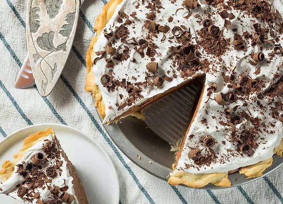 Whole French Silk Pie