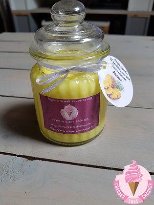 Bougie parfumée ananas [40H]