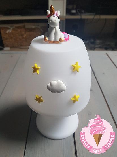 Veilleuse lampe licorne