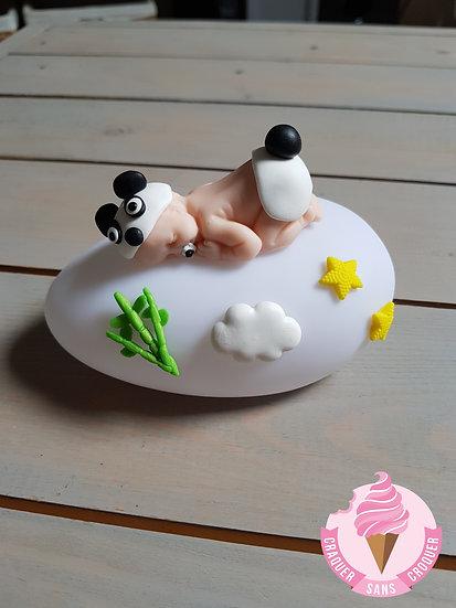 Veilleuse bébé panda