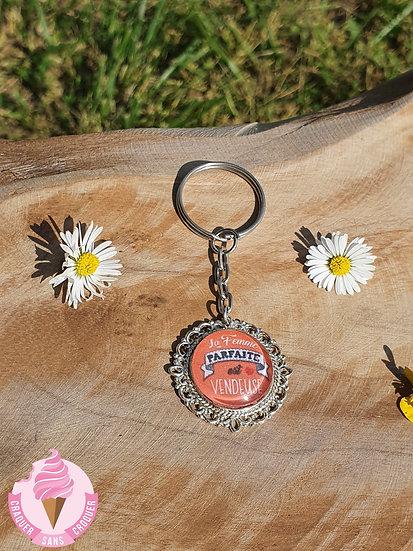 Porte clés Vendeuse