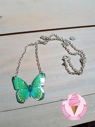 Collier papillon N°3