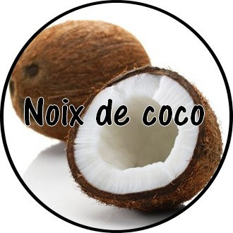 Galet parfumé Noix de coco