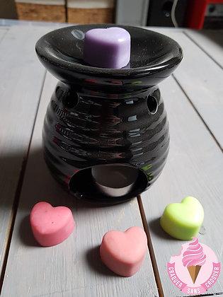 Pack Brûleur noir et galets parfumés
