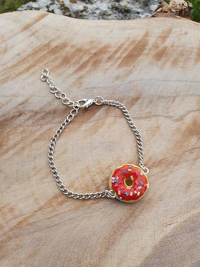 Bracelet donut's rouge