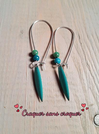 BO bleu turquoise