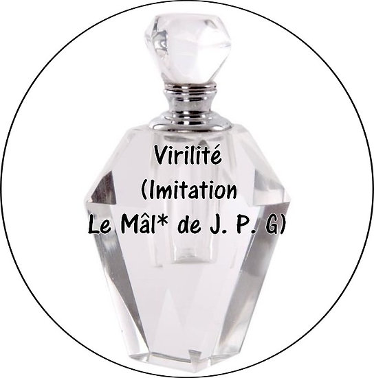 Galet parfumé Virilité