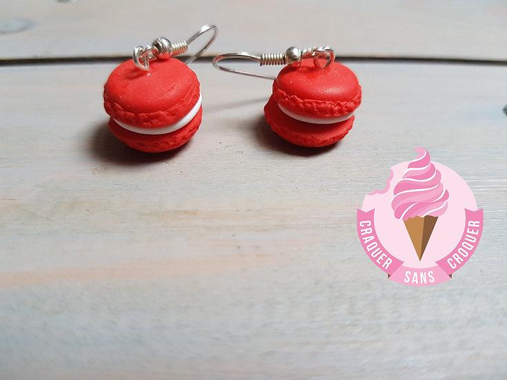 BO macaron fraise