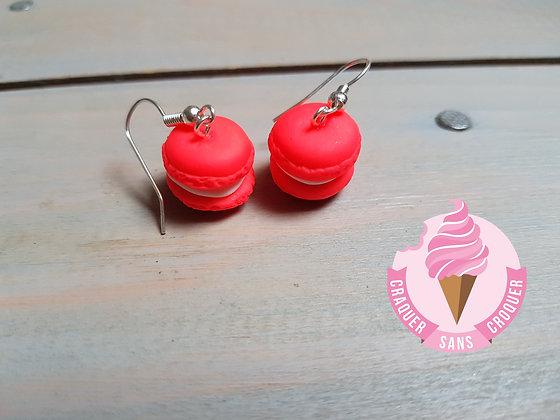 BO macaron rose fluo