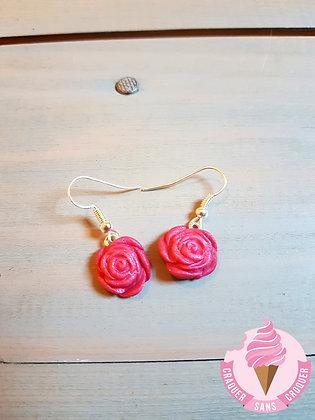 BO fleurs rose