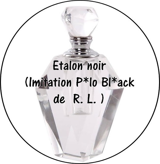 Galet parfumé Étalon noir