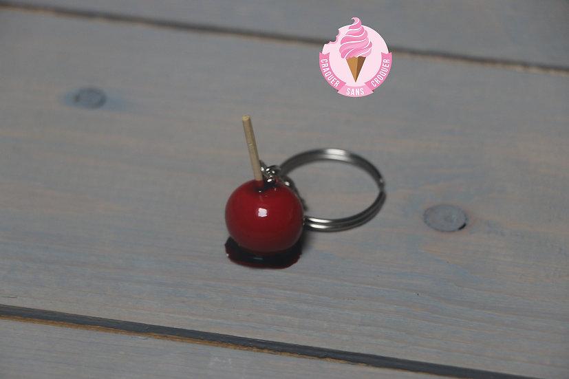 Porte clés Pomme d'amour