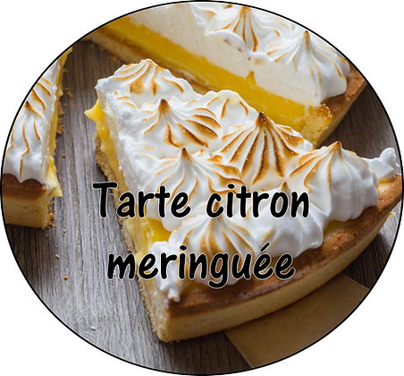 Galet parfumé Tarte citron meringuée