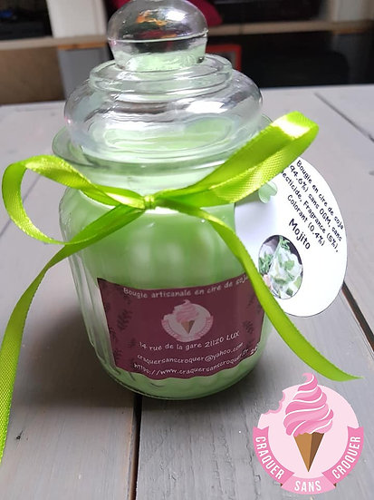 Bougie parfumée mojito [40H]