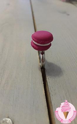 Bague macaron rose [Enfant]