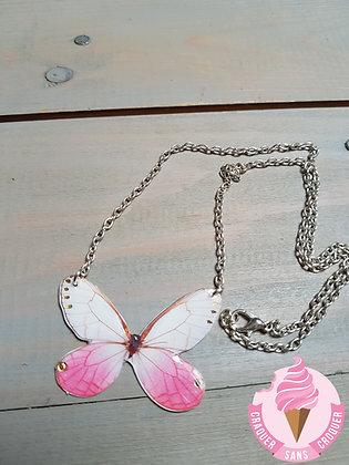 Collier papillon N°1