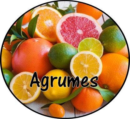 Galet parfumé Agrumes