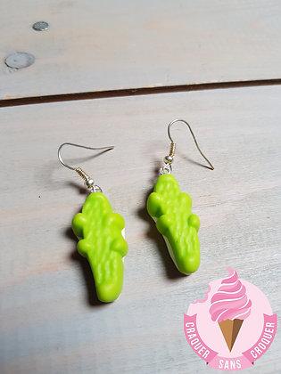 BO Bonbon Croco vert