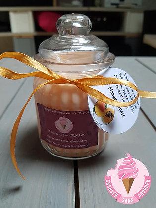 Bougie parfumée Mangue papaye [40H]
