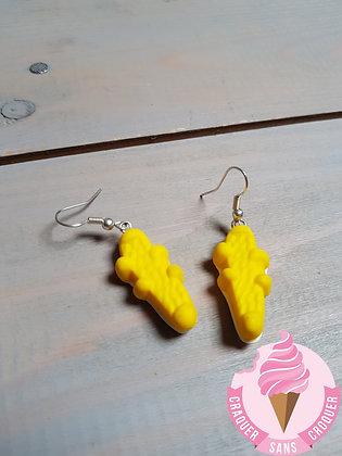 BO Bonbon Croco jaune