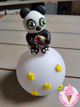 Veilleuse panda avec donut's