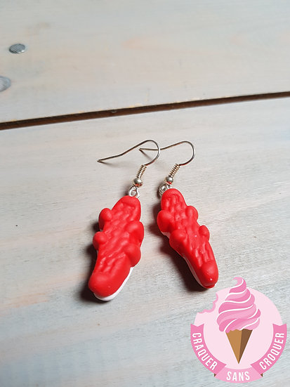 BO Bonbon Croco rouge