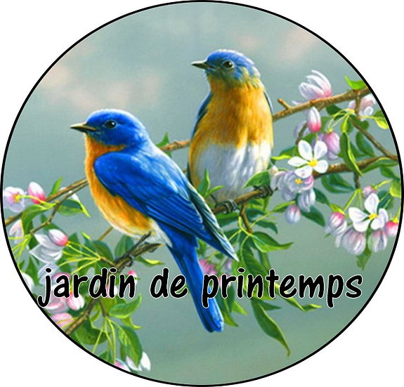 Galet parfumé Jardin de printemps