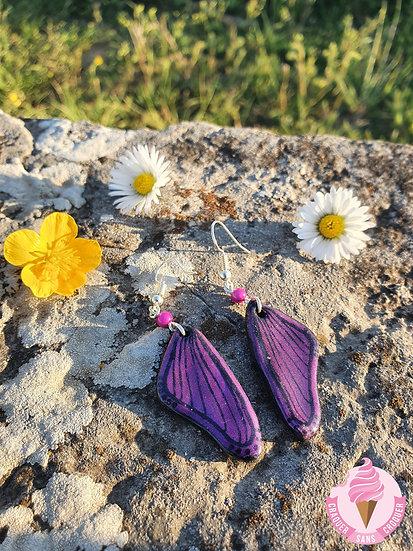 BO ailes rose/violette