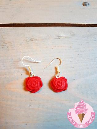 BO fleurs rouge