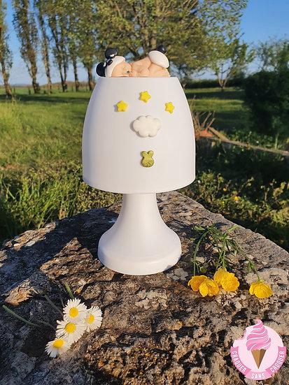 Veilleuse lampe bébé panda